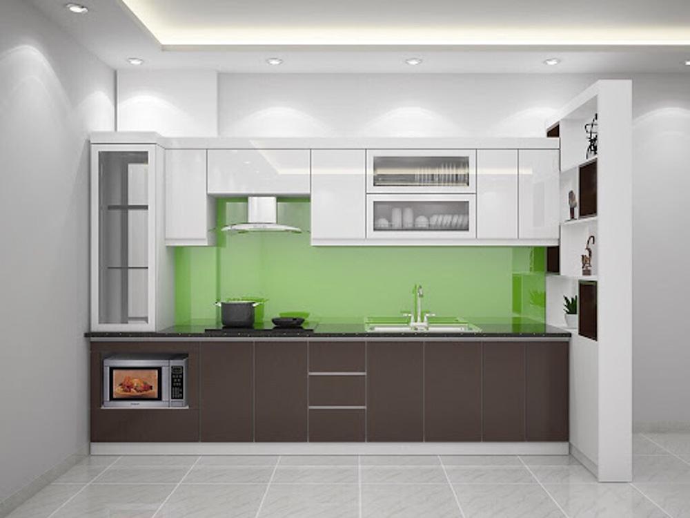 Sản phẩm tủ bếp MDF phủ Melamine được rất nhiều khách hàng yêu thích