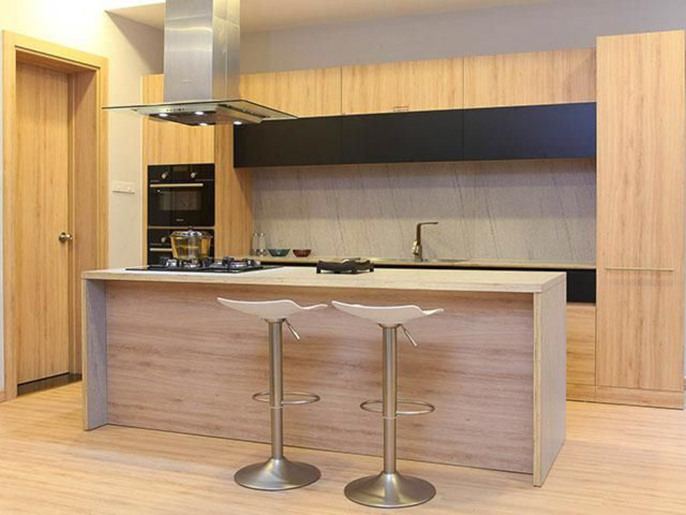 tủ bếp gỗ MFC An Cường