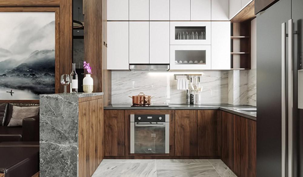 Gỗ MDF phủ Acrylic chính là chất liệu vô cùng tuyệt vời dành cho những thiết kế nội thất hiện đại