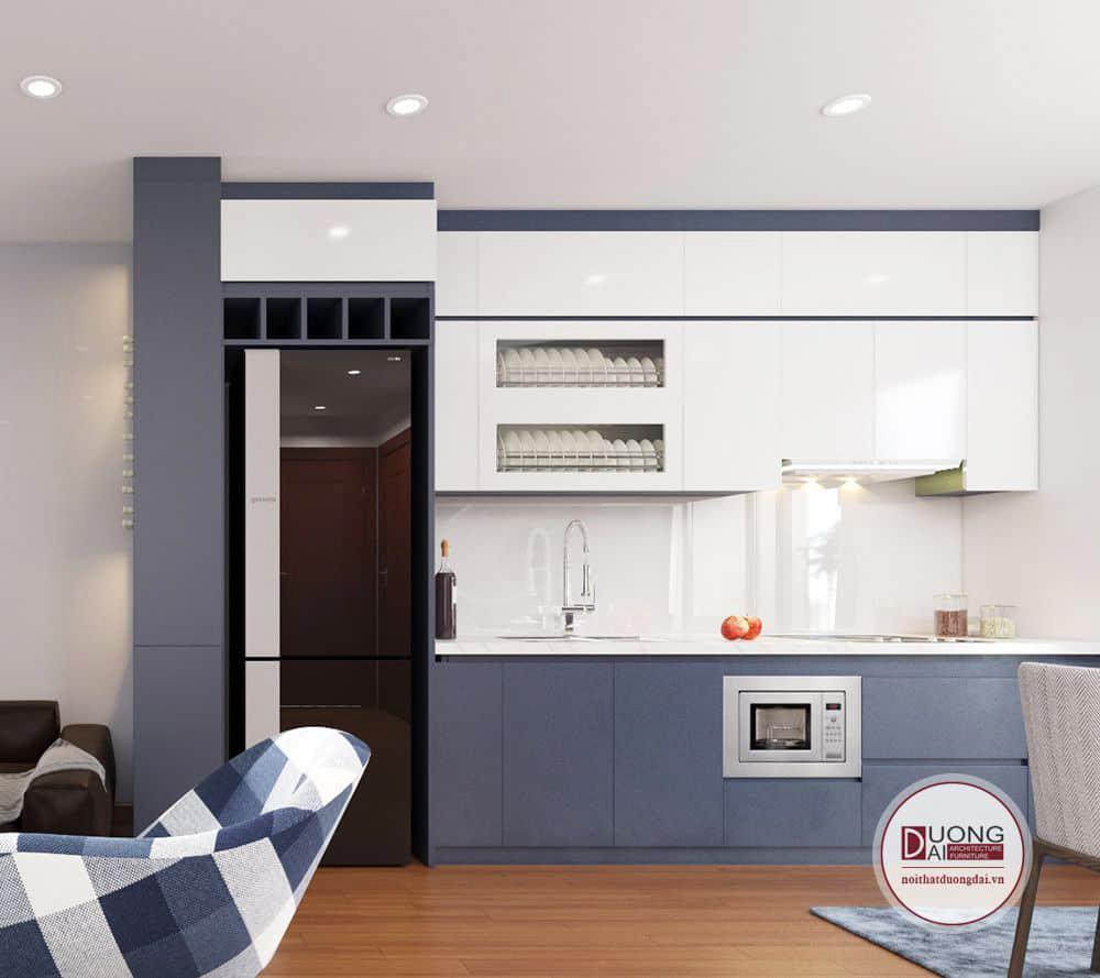 Tủ bếp nên dùng gỗ công nghiệp hay gỗ tự nhiên
