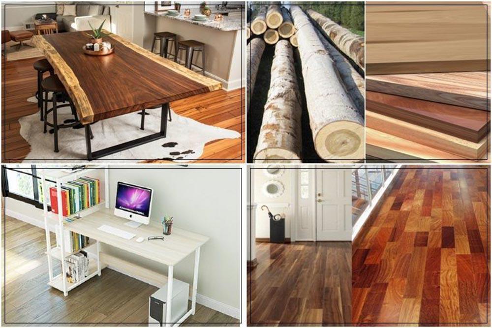 Gỗ tự nhiên là chất liệu được ưa chuộng sản xuất nội thất từ xưa đến nay