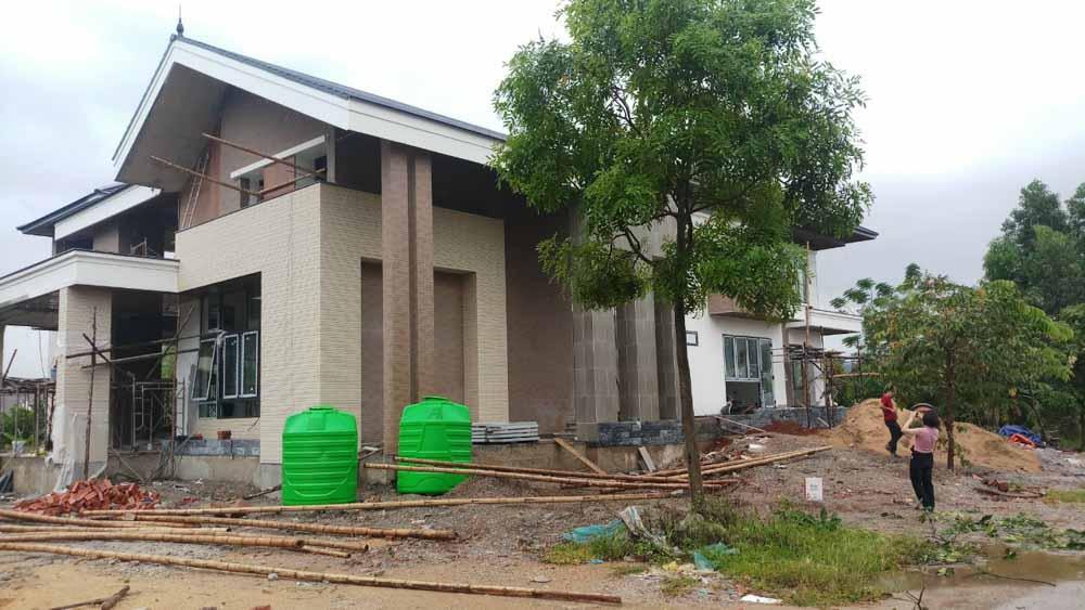 Khảo sát tư vấn thiết kế, thi công nội thất nhà anh Ngọc ở Thanh Hóa
